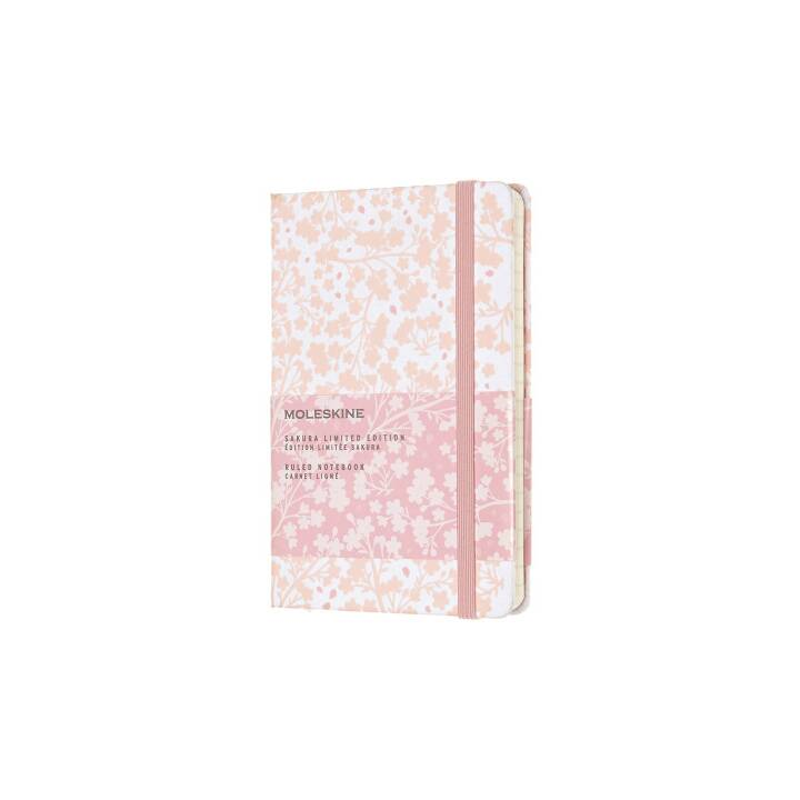 MOLESKINE Notizbuch Sakura (A6, Liniert)