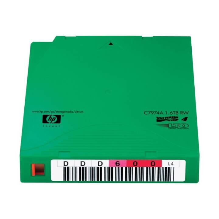 HP Ultrium Non-Custom Labeled Data Cartridge