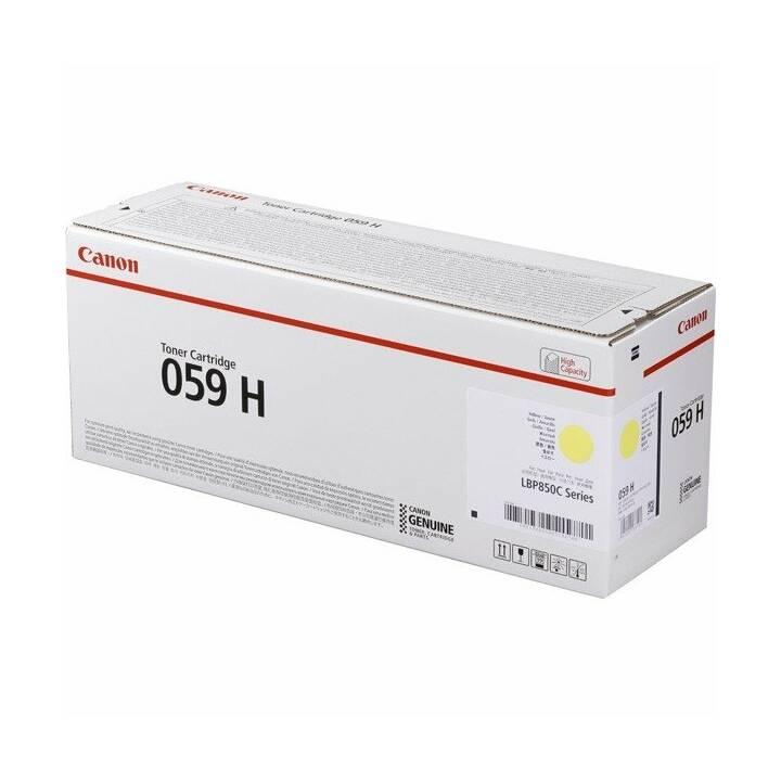 CANON 059 H (Einzeltoner, Gelb)