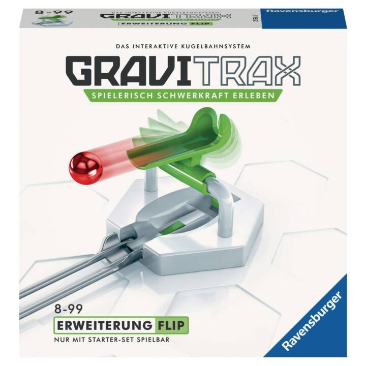 RAVENSBURGER GraviTrax Flip Circuits de billes (jeux de construction)