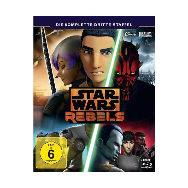Star Wars Rebels Saison 3 (ES, DE, EN, FR)