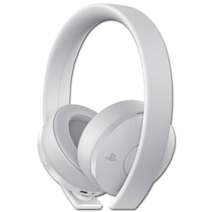 SONY Wireless Headset Gold-Edition (7.1, Over-Ear, Wireless, Bianco)