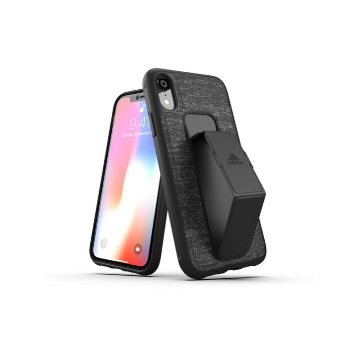 ADIDAS Back Cover Grip SP iPhone XR Schwarz