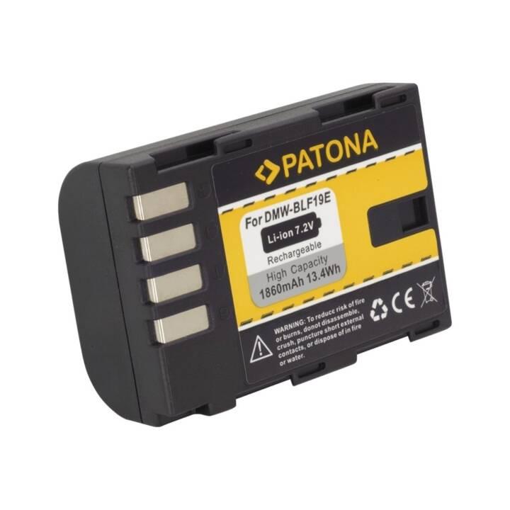 PATONA Batterie pour Panasonic DMW-BLF19