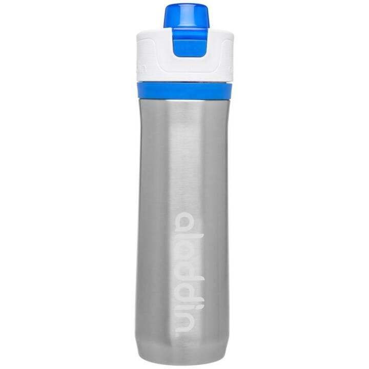 ALADDIN Sportflasche Active Hydration (0.6 l, Blau, Edelstahl)