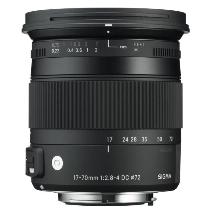 SIGMA Contemporain 17 - 70 mm f/2,8 - 4,0 DC Macro OS HSM