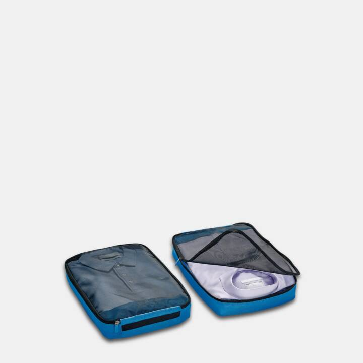 GO TRAVEL Sac de voyage Packing Cubes  (Bleu)