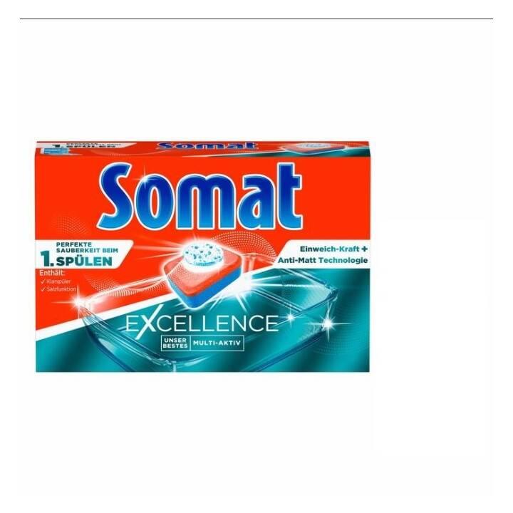 SOMAT Détergents pour lave-vaisselle Excellence (22 pièce, Tabs)