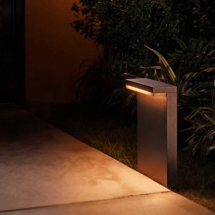 PHILIPS HUE Lampada da pavimento Nyro (LED incorporato, 13.50 W, Nero)