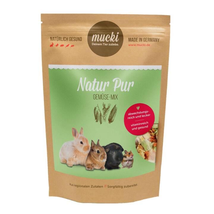 MUCKI Chips Natur Pur (125 g, Tutto roditori)