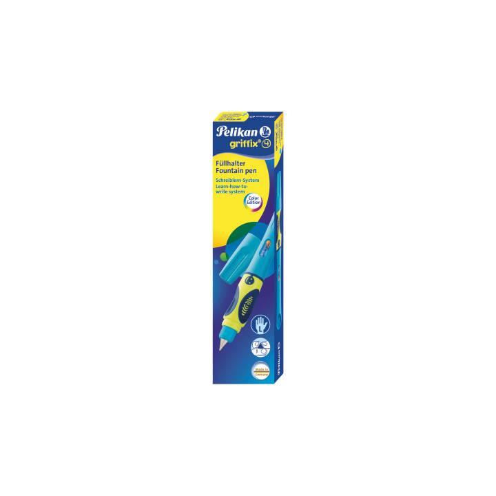 PELIKAN Stylo-plume Griffix pour gauchers Bleu
