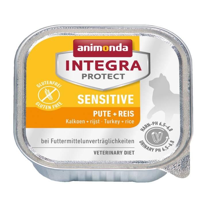 ANIMONDA Integra Protect Sensitive (Adulte, 100 g, Dindon, Riz)