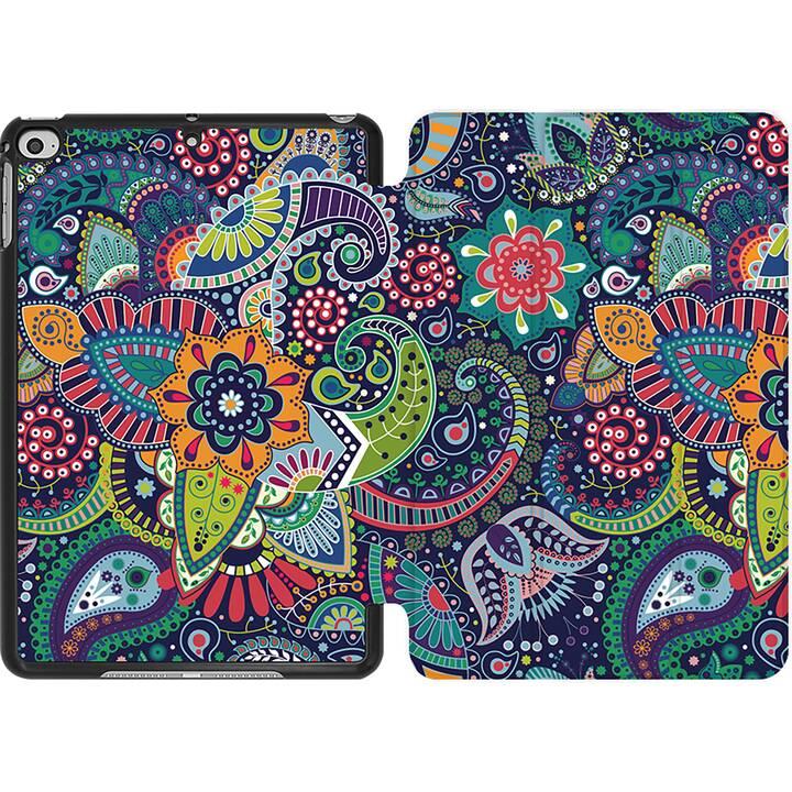 EG MTT Coque pour iPad Mini 4 (2015) et Mini 5 (2019) - Cachemire floral