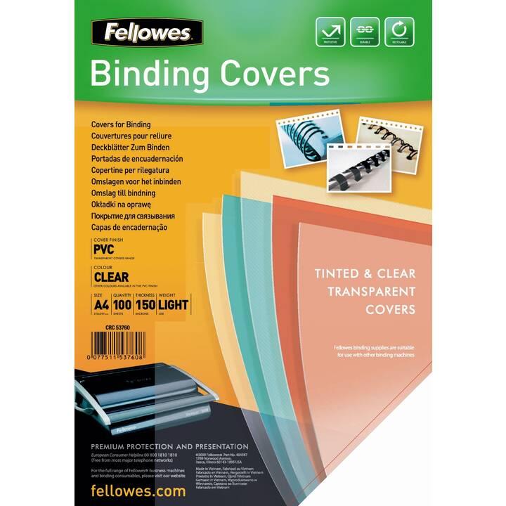 FELLOWES Deckblatt & -folie Binding Covers (Transparent)