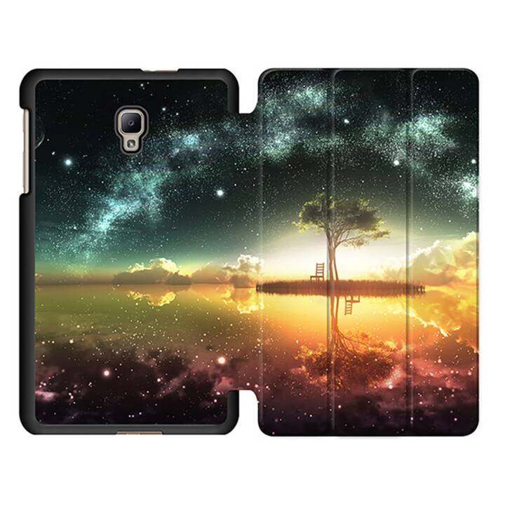 "EG MTT Tablet Bag con coperchio pieghevole Smart per Samsung Galaxy Tab A 8"" (2017) Tablet - Sky"