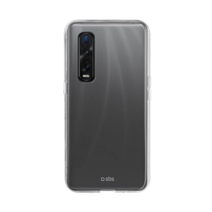SBS Backcover Skinny Cover (Find X2 Pro, Transparent)