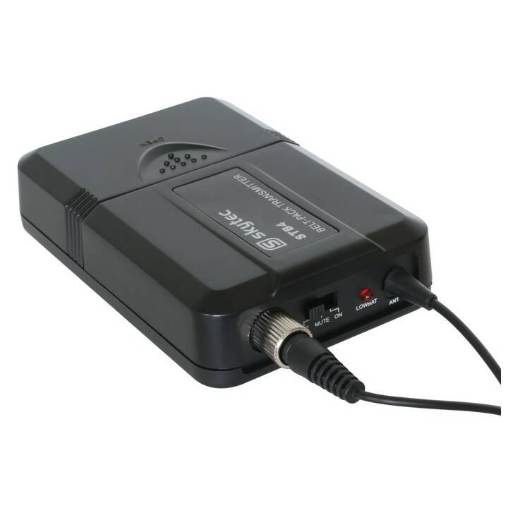 SKYTEC STWM722C Set di microfoni (Nero)