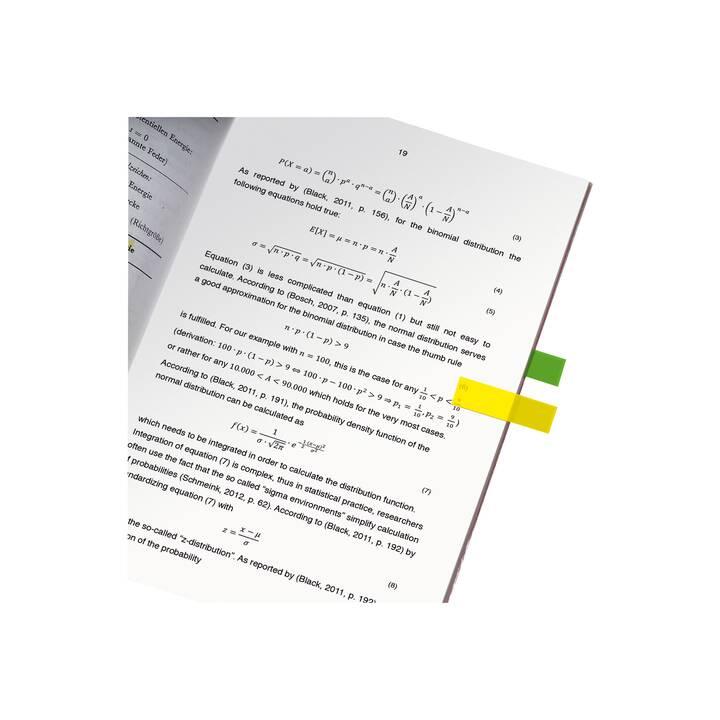 SIGEL Film de notes autocollantes 12x50mm 5 couleurs ass.
