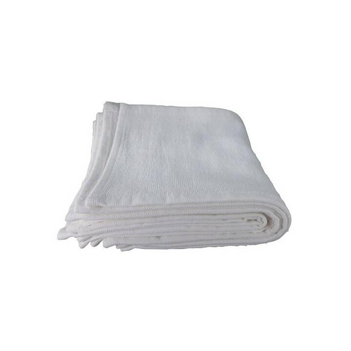 COMAIR Waschlappen (15 cm x 30 cm, Weiss)