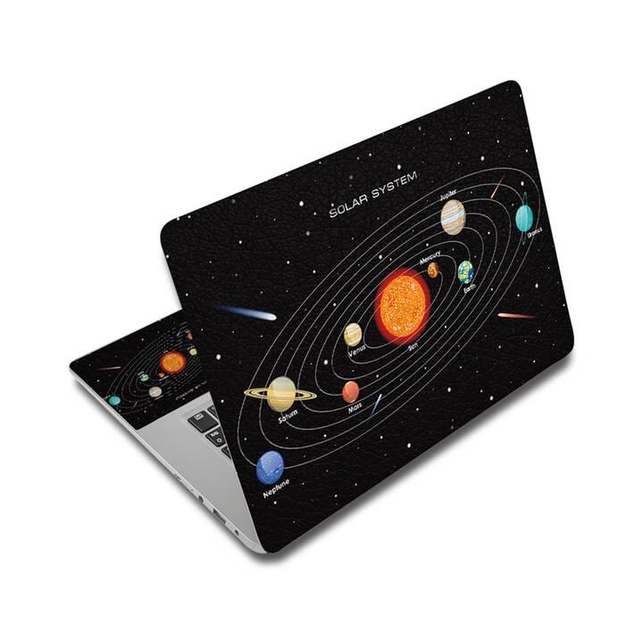 "EG adesivo per laptop 17"" - universo"
