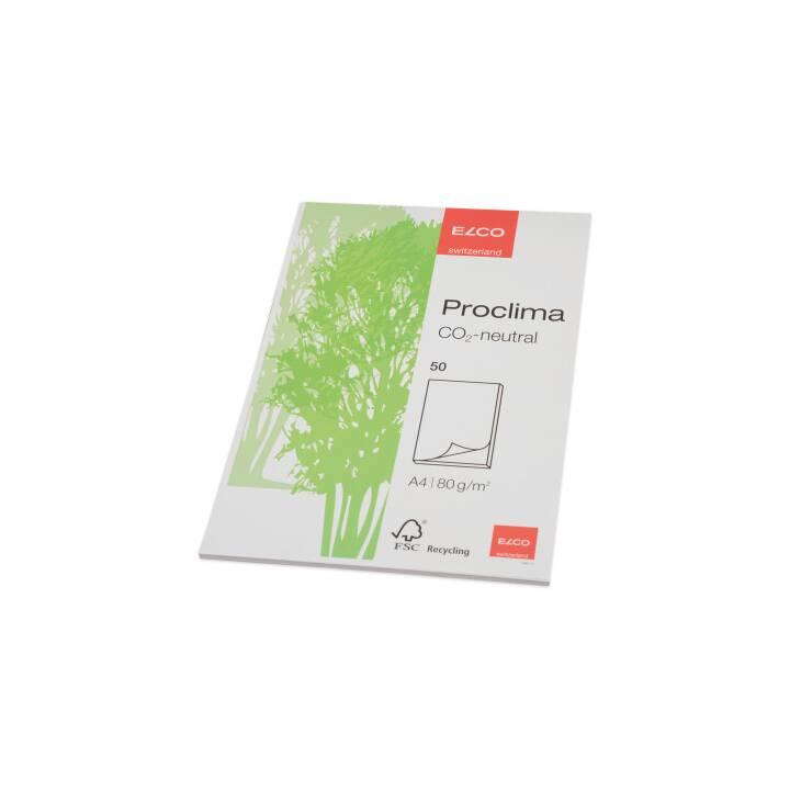 ELCO Proclima A4 in bianco 50 fogli