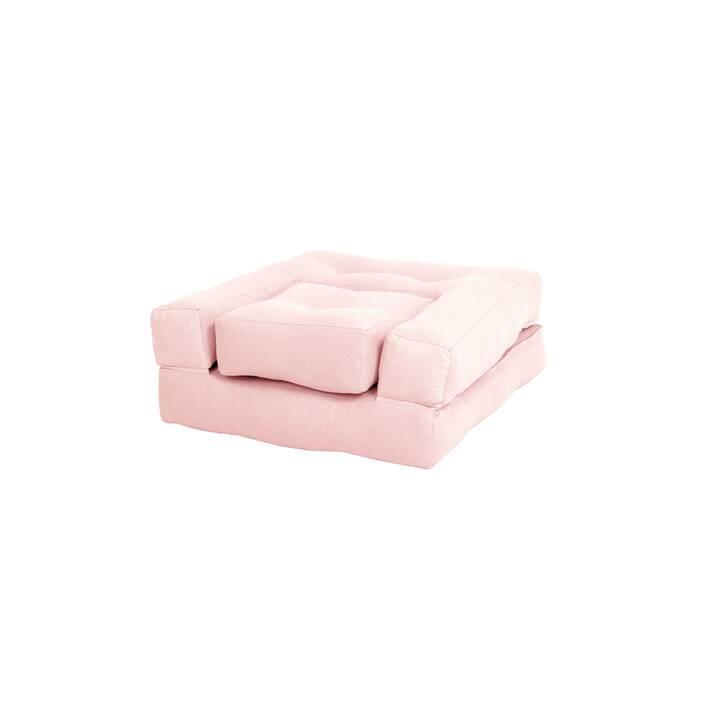 KARUP DESIGN Poltrona Futon Mini Cube 2in1 (Poliestere, Cotone, Componibile)