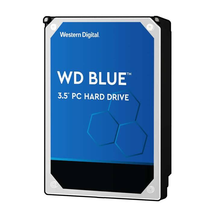 WD WD20EZAZ (SATA, SATA-III, 2 TB, Bleu, Argent, Noir)