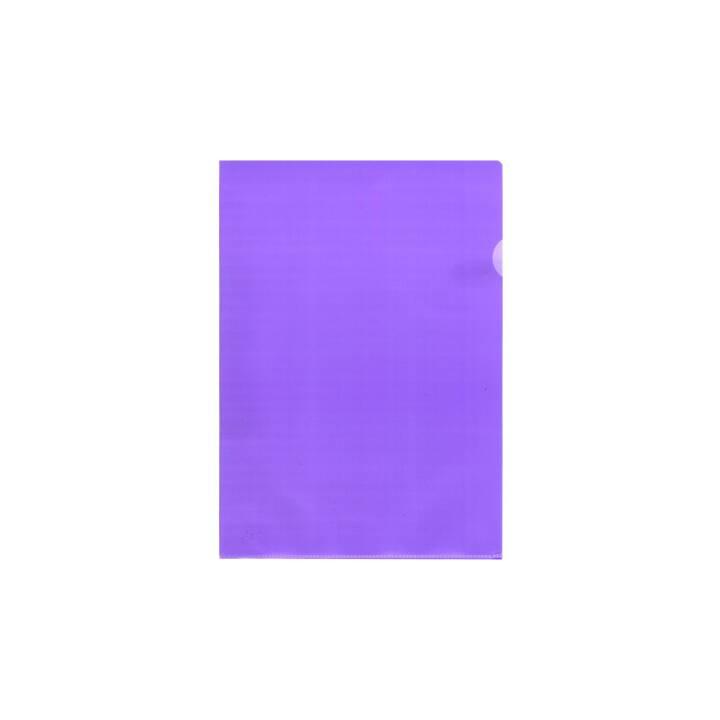 BÜROLINE A4 chemises violet mat 10 pièces