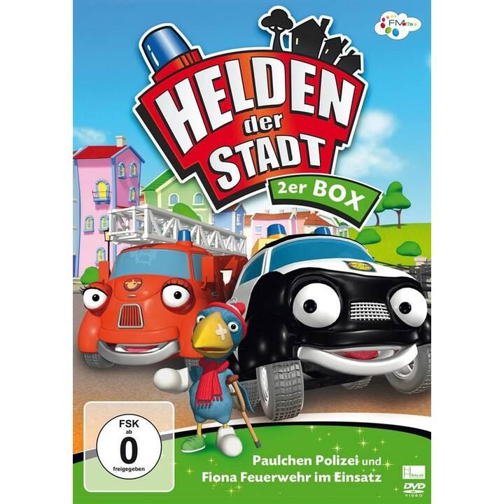 Helden der Stadt - 2er Box - Paulchen Polizei / Fiona Feuerwehr im Einsatz (DE)