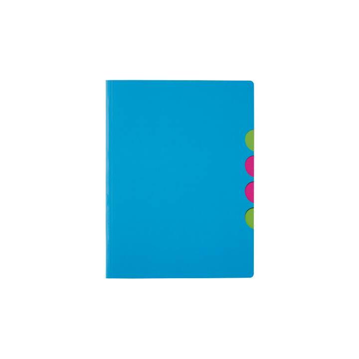 PAGNA chemise à 5 compartiments Style up bleu clair