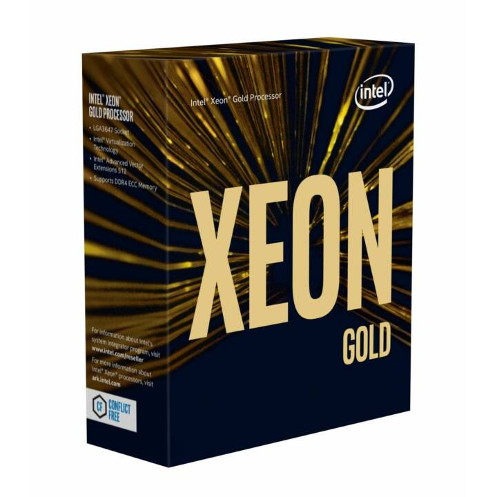 INTEL Xeon Gold 6142, 2,6 GHz, processore