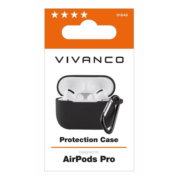 VIVANCO Airpod Pro Protection Sac (Noir)