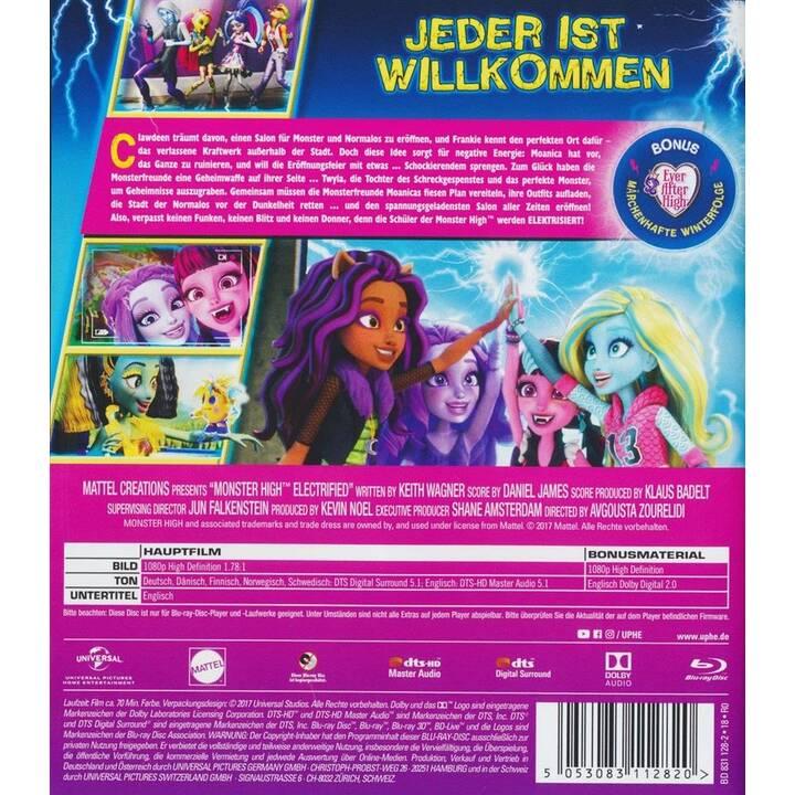 Monster High - Elektrisiert (DE, EN, FI, NO, SV, DA)