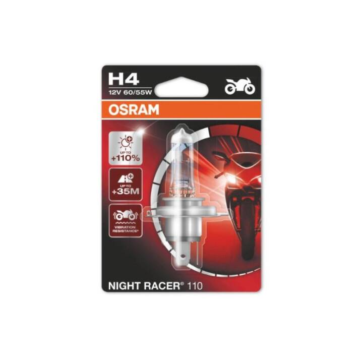 OSRAM H4 Night Racer H4, moto
