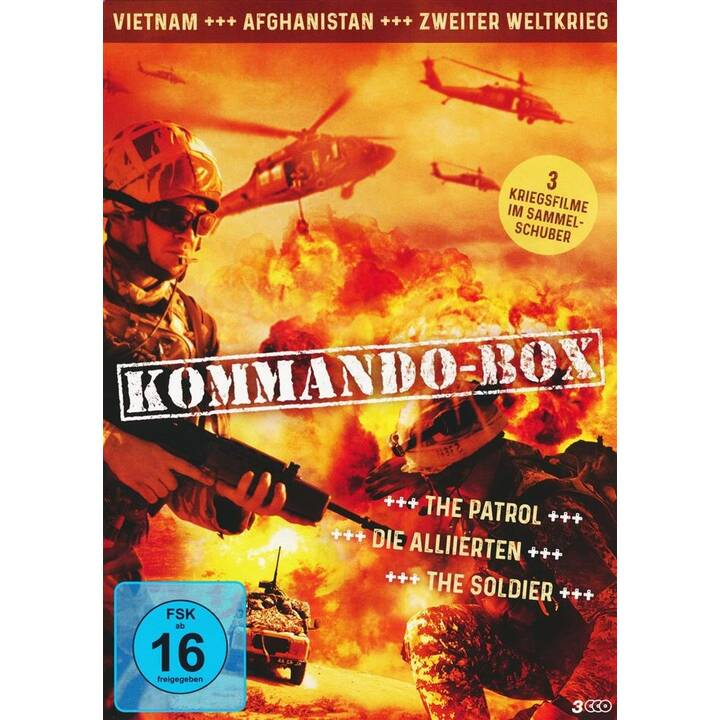 Kommando-Box - The Patrol / Die Alliierten / The Soldier (DE)