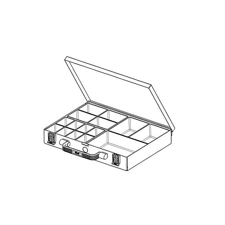 EUROKRAFT Sortimentskasten (5 cm x 24 cm x 34 cm)