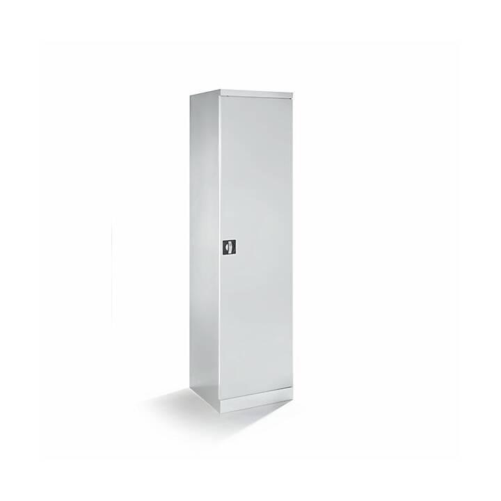 QUIPO Büroschrank (Grau, 500 x 1950 mm)