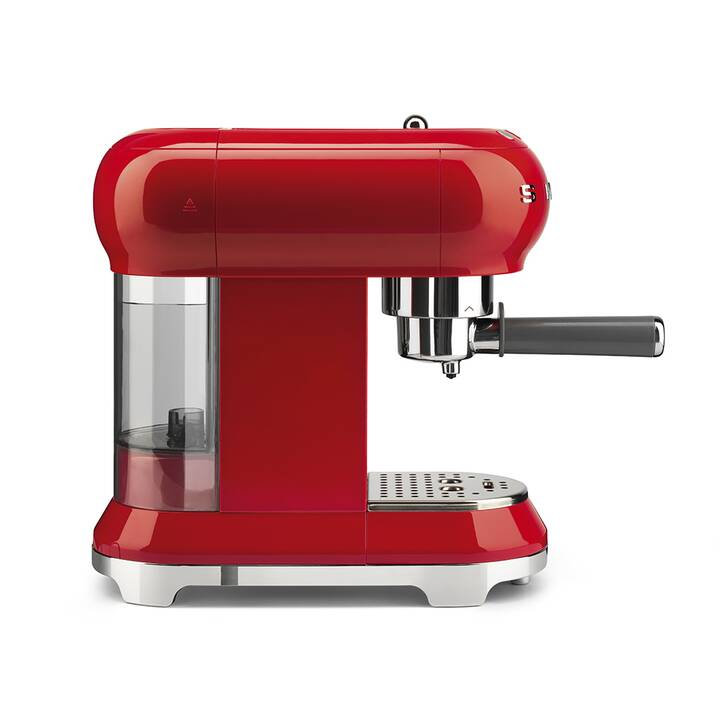 SMEG Machine à Espresso 50's Retro Style Rouge
