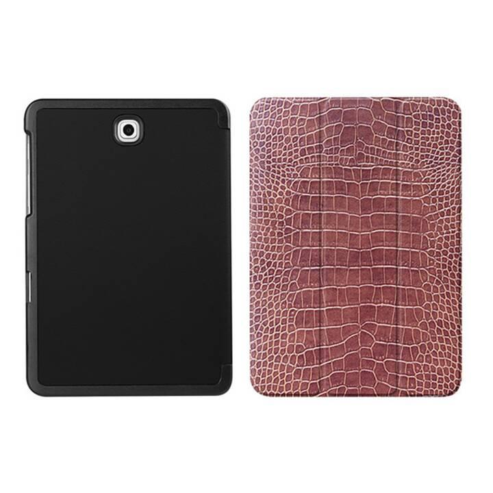 """EG MTT Housse tablette pour Samsung Galaxy Tab S2 8"""" - peau de serpent"""