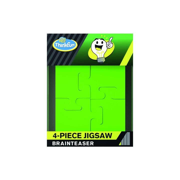 THINKFUN  4-Piece Jigsaw (4 Stk, Puzzle 2D)