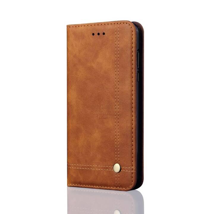 """EG Mornrise custodia a portafoglio per Samsung Galaxy S20 Plus 6.7"""" 2020 - marrone chiaro"""