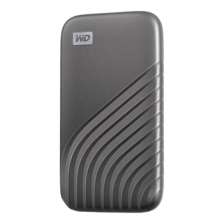 WD My Passport SSD (USB 3.1 Typ-C, 1 TB, Grau)