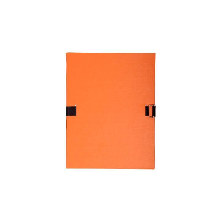 Cartella documento EXACOMPTA A4 arancione