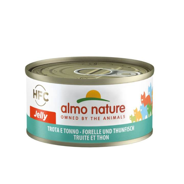 ALMO NATURE HFC Jelly (Adult, 70 g, Thunfisch, Forelle)