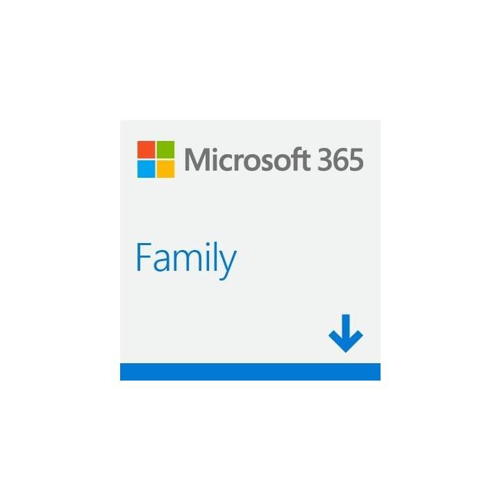 MICROSOFT 365 Family (Abbonamento, 6x, 1 anno, Italiano)