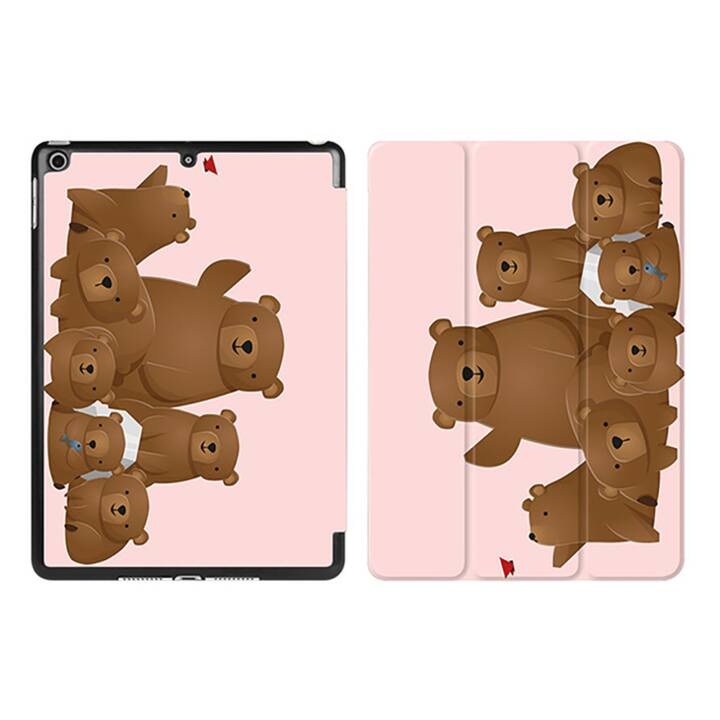 "EG iPad Sleeve per Apple iPad 9.7"" 9.7"" 9.7"" - orsi dei cartoni animati rosa"