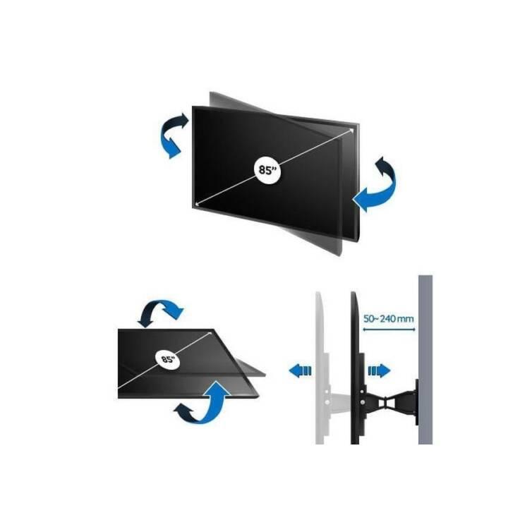 SAMSUNG Supports TV WMN5870XR/XC VESA Large (Mural)