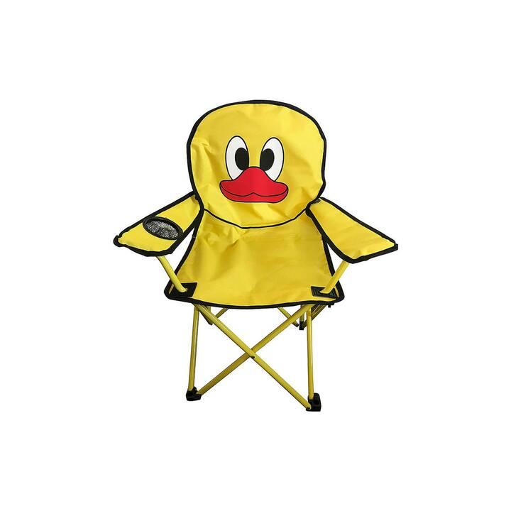 COOP Chaise de camping (Jaune)
