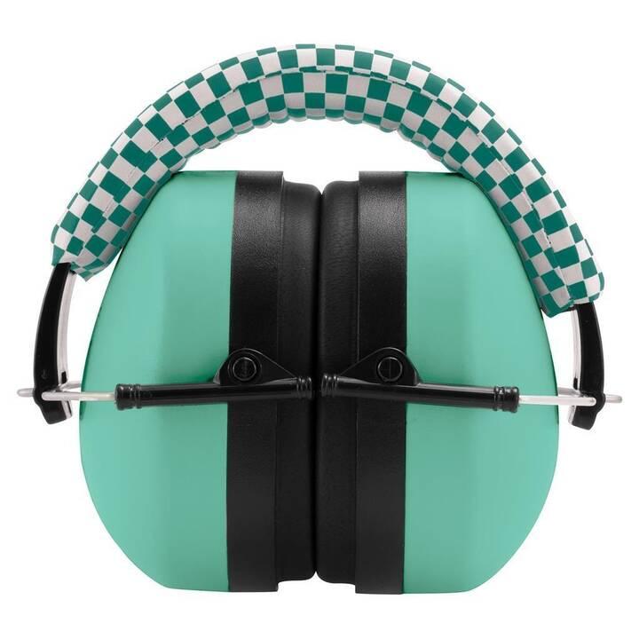 SOMBO Cuffie antirumore per bambini (Verde, Nero)