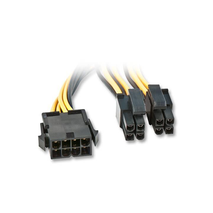 Câble d'alimentation LINDY, 40 cm